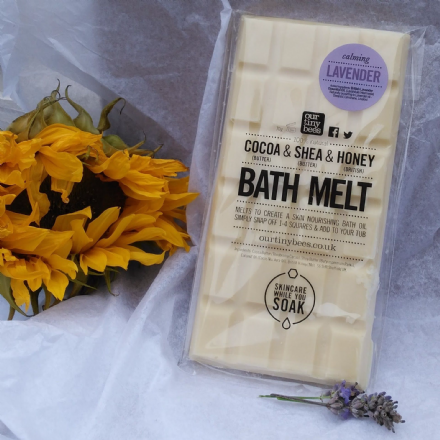Bath Melt Bar (Lavender)